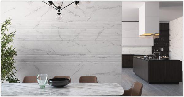 Fontana White 30x90 - интерьер №3