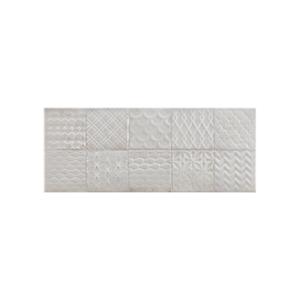 Folk Mosaic Gris 20x50