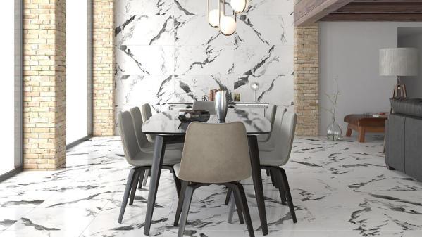 Panda Marble 60x120 - интерьер №1