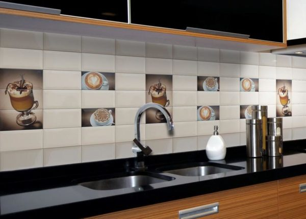 Caffe Capucino Maron B 10x30 - интерьер №1