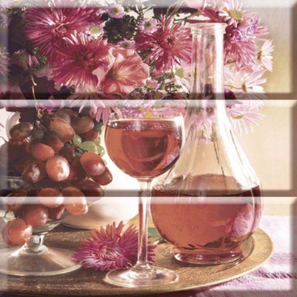 Composion Wine 03 30x30