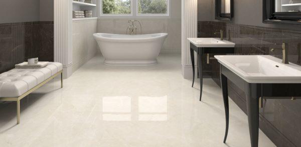 Crystal White 75x75 - интерьер №1