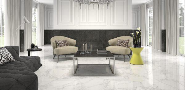 Crystal White 75x75 - интерьер №2