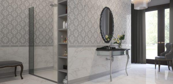 Crystal White 75x75 - интерьер №3