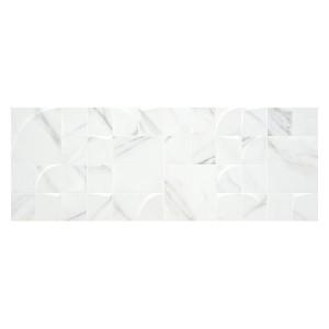 Aston White Qube 33.3x90
