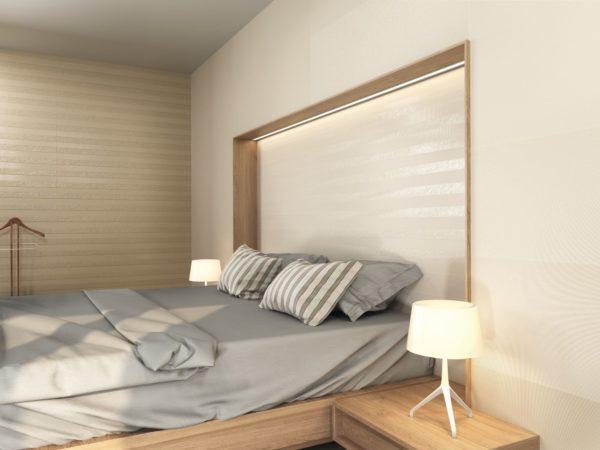 Sense Tessut Cream 40x120 - интерьер №3