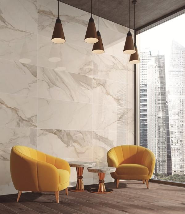 Calacatta Silver Lux 60x60 - интерьер №2