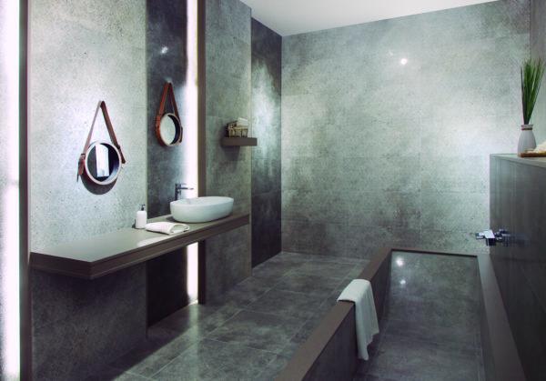 Decor Design Lux Grey 45x90 - интерьер №2