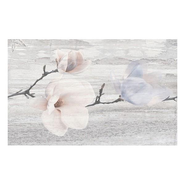 Decor Pastel Magnolia Light Grey 25x40