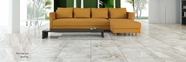Pirin Light Grey 60x60 - интерьер №1